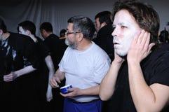Carnaval de LUZON de diables. L'ESPAGNE image libre de droits