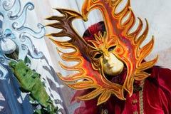 Carnaval de máscaras de Veneza Imagem de Stock Royalty Free