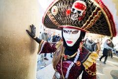 Carnaval de máscaras de Veneza Foto de Stock