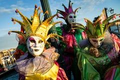 Carnaval de máscaras de Veneza Foto de Stock Royalty Free