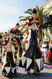 Carnaval de Nice, France. Photographie stock libre de droits