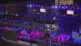 Carnaval De Nice Frankrike lager videofilmer