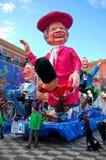 Carnaval de Nice le 21 février 2012, la France Photographie stock libre de droits