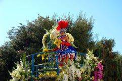 Carnaval de Nice le 22 février 2012, la France Photographie stock