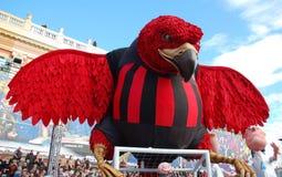 Carnaval de Niza el 21 de febrero de 2012, Francia Fotos de archivo libres de regalías