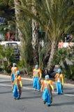 Carnaval de Niza, Francia. foto de archivo libre de regalías