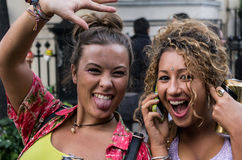 Carnaval 2008 de Notting Hill Photos stock