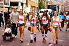 Carnaval 2008 de Notting Hill Fotografía de archivo