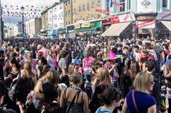 Carnaval de Notting Hill em Londres ocidental, Reino Unido Fotografia de Stock