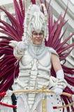 Carnaval de Notting Hill em Londres ocidental, Reino Unido Fotos de Stock Royalty Free