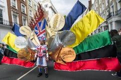 Carnaval de Notting Hill em Londres ocidental, Reino Unido Imagem de Stock Royalty Free