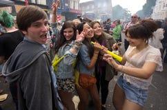 Carnaval de Notting Hill em Londres ocidental, Reino Unido Imagens de Stock