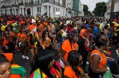 Carnaval de Notting Hill em Londres ocidental, Reino Unido Fotografia de Stock Royalty Free