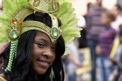 Carnaval de Notting Hill en Londres del oeste, Reino Unido Foto de archivo libre de regalías