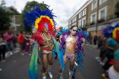 Carnaval de Notting Hill en Londres del oeste, Reino Unido Fotografía de archivo