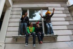 Carnaval de Notting Hill - indicador Fotografia de Stock