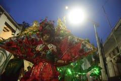 Carnaval 2017 de nuit de Semarang Image stock