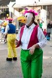 carnaval de ourem葡萄牙 库存照片