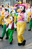 Carnaval de Ourem, Portogallo immagini stock