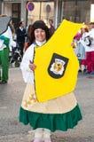 Carnaval de Ourem, Portugal fotografia de stock
