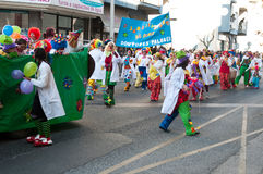 Carnaval de Ourem, Portugal Stock Photography