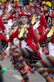 carnaval de ovar葡萄牙 免版税库存照片