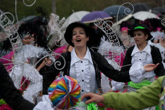 Carnaval DE Ovar, Portugal Stock Afbeelding