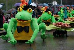 Carnaval de Ovar, Portugal Royalty Free Stock Photography