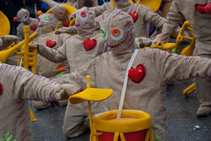Carnaval de Ovar, Portugal Stock Images