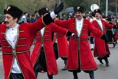 carnaval de ovar portugal Arkivbild