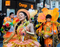 Carnaval de Paris 2011 Photo stock