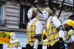 Carnaval de Paris 2011 Image stock