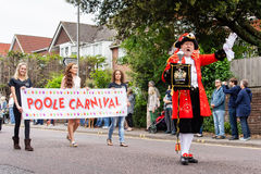 CARNAVAL DE POOLE photographie stock