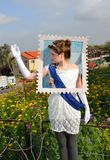 Carnaval de Purim en Israël Photo stock