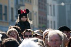 Carnaval de Renda de Binche. Foto de Stock