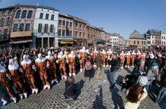 Carnaval de Renda de Binche. Imagens de Stock Royalty Free