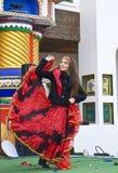 Carnaval de ressort à Moscou Images libres de droits