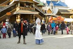 Carnaval de ressort en Russie Photographie stock libre de droits