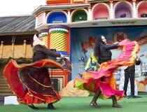 Carnaval de ressort en Russie Photo stock