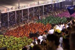 Carnaval de Rio Images libres de droits