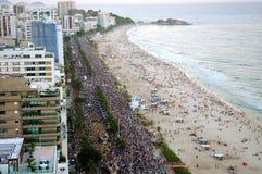 Carnaval de Rua Lizenzfreies Stockfoto