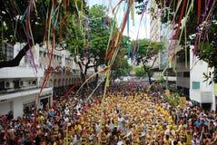 Carnaval de Rua immagine stock