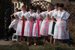 Carnaval de Sorbian en un Lusatia más bajo, Alemania Fotos de archivo