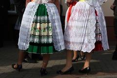 Carnaval de Sorbian en un Lusatia más bajo, Alemania Imagen de archivo