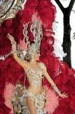 Carnaval de Tenerife Foto de archivo libre de regalías