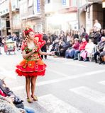 Carnaval de Torrevieja 2018 zdjęcie royalty free
