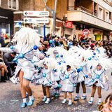 Carnaval de Torrevieja 2018 obrazy royalty free