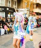 Carnaval de Torrevieja 2018 immagini stock