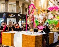 Carnaval de Torrevieja 2018 immagine stock libera da diritti
