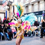 Carnaval de Torrevieja 2018. Festive event carnival in torrevieja on the Costa Blanca Spain. 20018, FEBRUARY 11 Stock Images